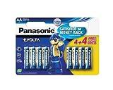 Panasonic PANLR6EGE4BLI Evolta AA/LR6AA Alkaline...