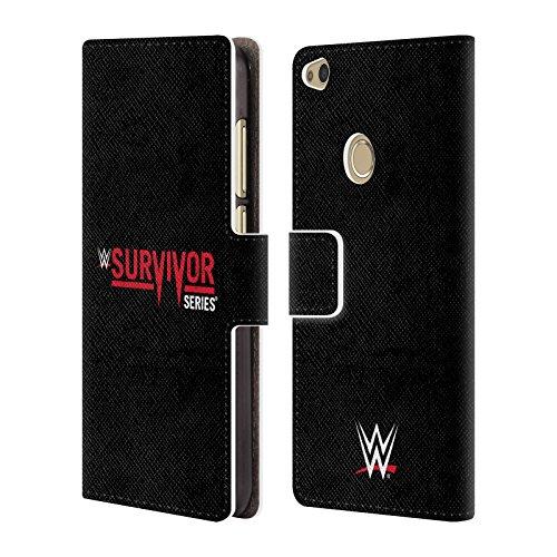 Offizielle WWE Survivor Series The Shows Brieftasche Handyhülle aus Leder für Huawei P8 Lite (2017)
