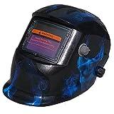 YANLIU Schweißmasken, elektrodenlose Einstellung der Sonnenenergie automatische variable Lichtschweißmasken, Argon-Lichtbogenschweißen gegen Blendung