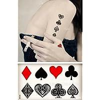 ღ (Hc-36) Cuerpo temporal tatuaje Flash temporal pegatinas pegatinas tatuaje hoja de etiquetas hombres mujeres