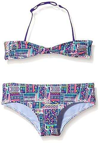 Skiny Mädchen Zweiteiler Festival/Bikini, Gr. 152, Mehrfarbig (bright violet ethno