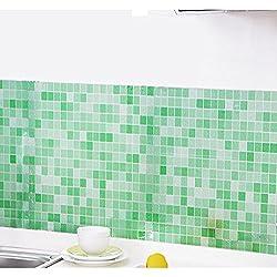 iYmitz ☯ Salle de Bains Cuisine Toilette Autocollants imperméables Autocollants muraux pour Carreaux de mosaïque