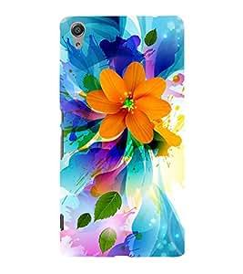 Fuson Designer Back Case Cover for Sony Xperia C6 Ultra Dual (Flower Bloom Blossom Floret Floweret)