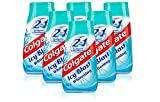 6X Colgate 2 in 1 Toothpaste & Mouthwash ICY Blast Whitening 100ml Travel