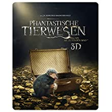 Phantastische Tierwesen und wo sie zu finden sind - Steelbook (exklusiv bei Amazon.de) [3D Blu-ray] [Limited Edition]