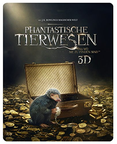 Phantastische Tierwesen und wo sie zu finden sind - Steelbook (exklusiv bei Amazon.de) [3D Blu-ray] [Limited Edition] - Et Singen Magie