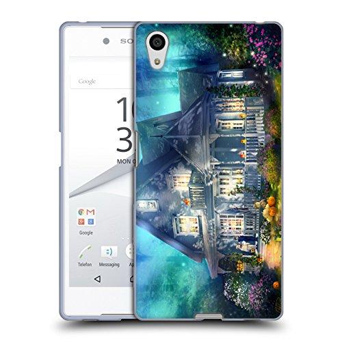 Head Case Designs Offizielle Joel Christopher Payne Halloween Strasse Verwunschener Ort Soft Gel Hülle für Sony Xperia Z5 / Z5 Dual