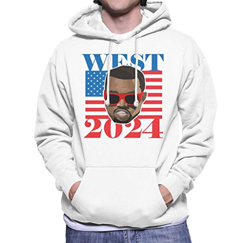 Cloud City 7 Kanye West 2024 President Men\'s Hooded Sweatshirt