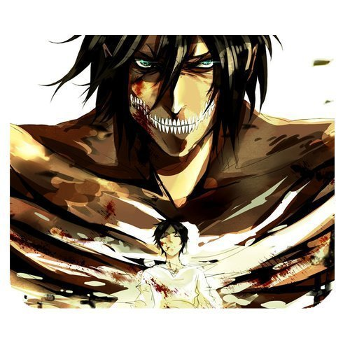 Anime Attack On Titan Personalized Custom Gaming Mousepad Rectangle Mouse Mat / Pad Office Accessory And Gift Design-LL1151