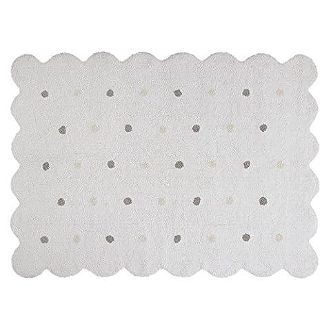 Tapis 160 X 160 Blanc - EN SOLDES - Tapis de sol enfant
