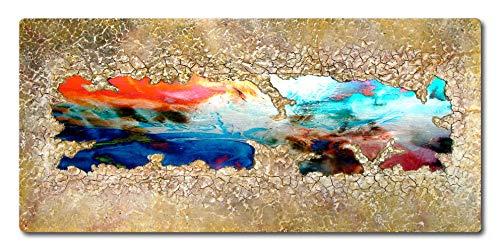 Abstrakte Malerei mit Metall und Struktur ORIGINAL Gemälde HANDGEMALT Acryl Bild zeitgenössische KUNST Objekt modern Malerei Unikat kaufen - EINWEG - Einweg Metall