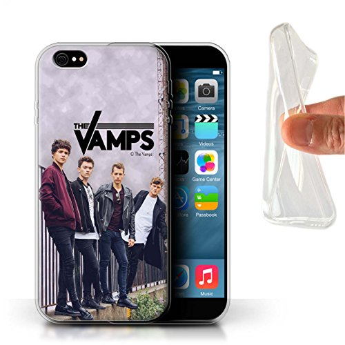 Officiel The Vamps Coque / Etui Gel TPU pour Apple iPhone 6S+/Plus / Pack 6pcs Design / The Vamps Séance Photo Collection Scrapbook