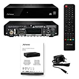 STRONG SRT 7006 HD Satelliten Receiver DVB-S2 (HDTV, HDMI, SCART, USB, Digitaler Koaxialausgang, Audio) schwarz