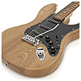 Guitare LA II SSS par Gear4music Naturel