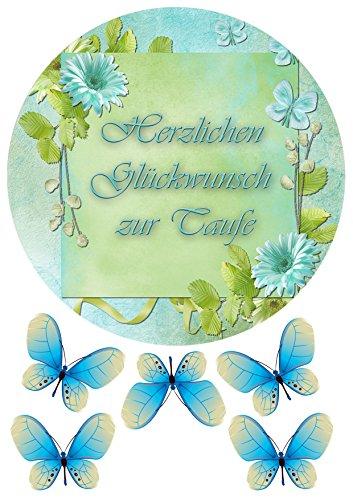 """""""zur Taufe"""" № 3 Tortenaufleger,Geburtstag,Tortendeko + Geschenk"""