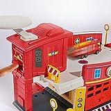 Feuerwehrmann Sam - Mini Die Cast Serie - Spiel Set Feuerwehrstation Test