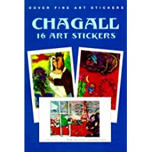 Chagall: 16 Art Stickers (Fine Art Stickers) by Marc Chagall (2000-02-01)