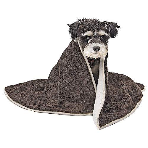 PAWZ Road Weiches warmes Haustier Hundedecke Hundematte Waschbar Doppelschicht Plüsch Dicke Decke Perfekt für kleine mittlere und große Hunde und Katzen -