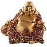 newquay-bonsai Dekorativ Chinesische Buddha Figur - klein Orientalisch Geschenk PDS