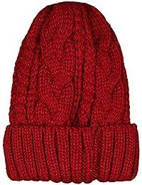 BHYDRY Unisex Gorra o pasamontaña de algodón Color Puro con pompón de Pelo  Mapache Genuino otoño 51b071a3a8a