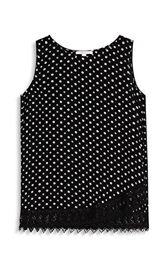 ESPRIT, Camicia Donna Multicolore (Black 001)