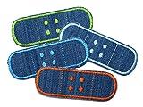Hosenpflaster Jeansflicken 4er Set Bügelflicken für Kinder/Erwachsene Patch zum aufbügeln