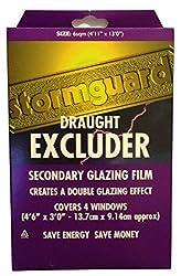 Stormguard 11SR0666SQM 6Sq m Secondary Glazing Window Insulation Film