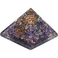 Crocon Amethyst Energetische Pyramide mit Kupfer Spring Sieben Chakra Edelstein Energie Generator Reiki Healing... preisvergleich bei billige-tabletten.eu