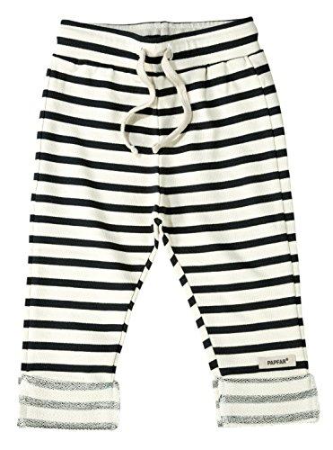 Papfar Baby Jogginghose GOTS-Zertifiziert Pantalon de Sport Mixte bébé, Multicolore (Blue Nights 287) 2 Mois