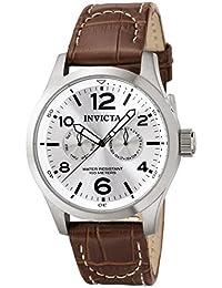 Invicta 0765 - Reloj para hombre color plateado / marrón