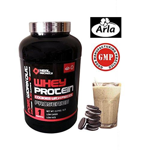 Whey Protein Proteina Suero ProSeries Post WorkOut PREMIUM Arla GMP HealSecrets (COOKIES)