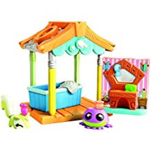 Animal Jam – Pet Wash Hut – Décor Salle de Bain + 1 Mini Figurine