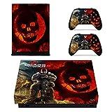 CIVIQ Set Complet de Stickers pour Xbox One X Console avec 2 contrôleurs - Gears of War 5