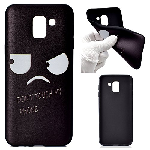 Funluna Samsung Galaxy J6 2018 Hülle, Weich TPU Silikon Schutzhülle Bumper Handytasche HandyHülle Etui Schale Case Cover Tasche für Samsung Galaxy J6 2018