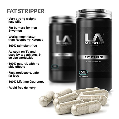 LA Muscle Fat Stripper Weight Management Pills 90 capsule. Molto