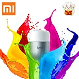 Xiaomi Intelligenti Lampadine, Xiaomi Yeelight Colorata Smart Light Bulb lampada bluetooth Lampadina...