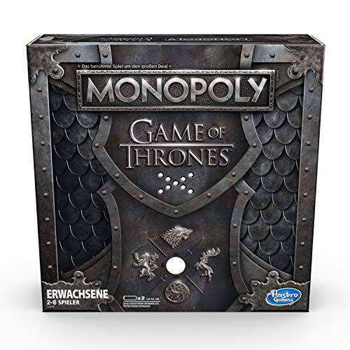 Hasbro Gaming E3278100 Monopoly Game of Thrones (deutsche Version), - Monopoly Brettspiel