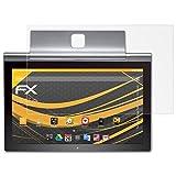 atFolix Schutzfolie für Lenovo Yoga Tablet 2 Pro (13.3 inch) Displayschutzfolie - 2 x FX-Antireflex blendfreie Folie