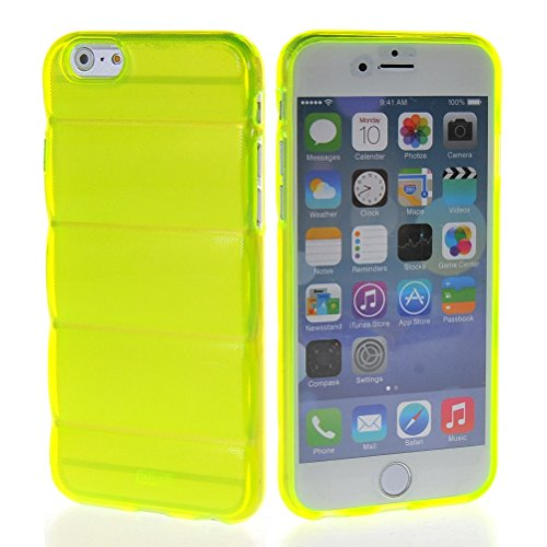 MOONCASE TPU Silicone Housse Coque Etui Gel Case Cover Pour Apple iPhone 6 Plus Hot Rose Vert