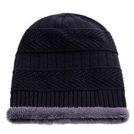 Zacharias Inside fur Man/Boye Woolen Warm beanie