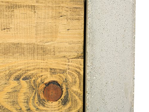 massivum Lowboard Gladstone 120x45x40 cm Pinie braun lackiert - 6