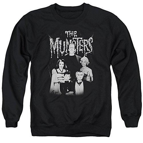 The Munsters -  Felpa  - Uomo Black