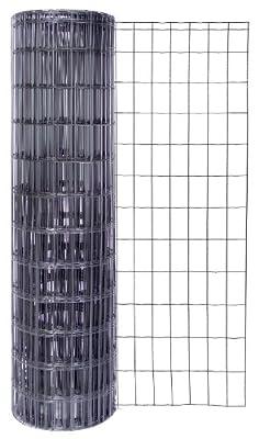GAH Alberts Fixclip Zaun-Set anthrazit 25 Meter Höhe 102 cm Fix Clip Zaunset von GAH Alberts - Du und dein Garten