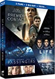 Coffret : Premier contact + Passengers + Life - Origine inconnue [Blu-ray + Copie digitale]