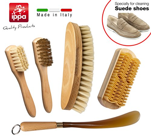 set-for-cleaning-and-care-of-shoes-brass-spandilucido-in-blonde-bristle-toothbrush-brush-for-suede-n