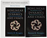 Nonlinear Dynamics and Chaos, 2nd ed. SET with Student Solutions Manual (Studies in Nonlinearity) by Steven H. Strogatz (2016-08-23)