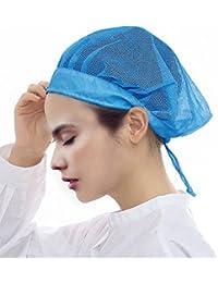 5759d56649a0 Berretto con visiera berretto cappello con fascia elastica per donna  Cappello da cuoco ristorante cameriere cucina