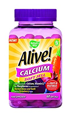 Alive! Calcium Soft Jells from Nature's Way