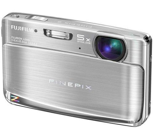 Fujifilm Finepix Z70 Digitalkamera (12 Megapixel, 5-fach opt.Zoom, 6,9 cm Display) silber