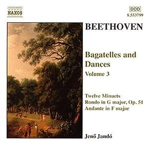 Beethoven: Bagatelles & Dances, Vol. 3